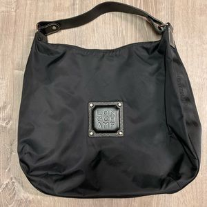 Longchamp Logo Nylon Hobo bag